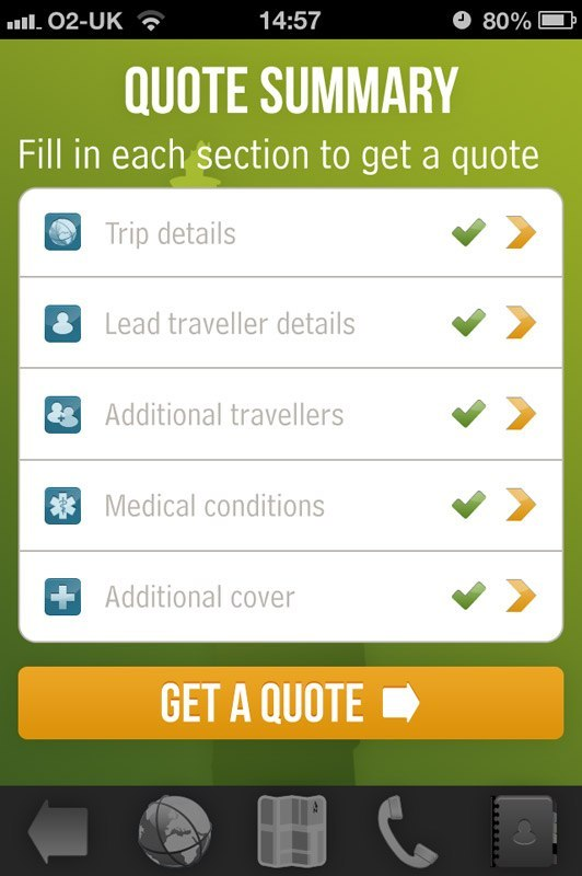 Ace Travel Insurance Quote