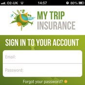 Sign in to My Trip Travel