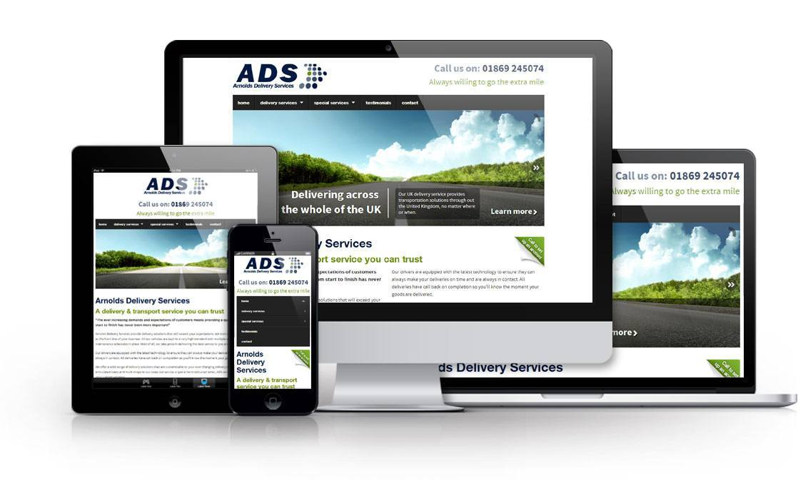Arnie Website Design Oxfordshire Creating Inovative Web